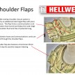 3 Hellweg A-TM Vest Shoulder Flaps