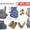 5 Hellweg A-TM Vest Example Pouches