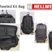 8 Hellweg A-TM Vest Wheeled Kit Bag